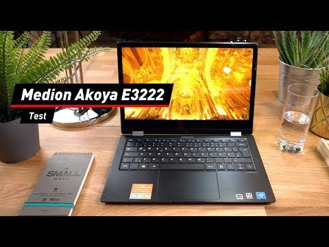 Notebook von Aldi: Medion Akoya E3222 im Test!