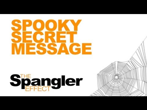 The Spangler Effect - Spooky Secret Message Season 01 Episode 37