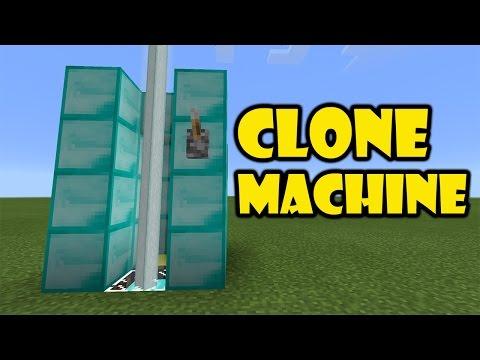CLONE MACHINE | Minecraft PE 0.16.0 Add on Trick | Redstone Creation