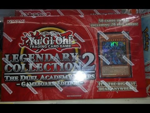 YuGiOh Legendary Collection 2 Gameboard Edition Opeing! May 2013!