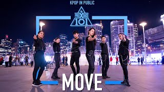 """[KPOP IN PUBLIC CHALLENGE] PRODUCE X 101 SIXC(6 crazy) - """"MOVE (움직여)"""" Dance Cover by MONOCHROME"""