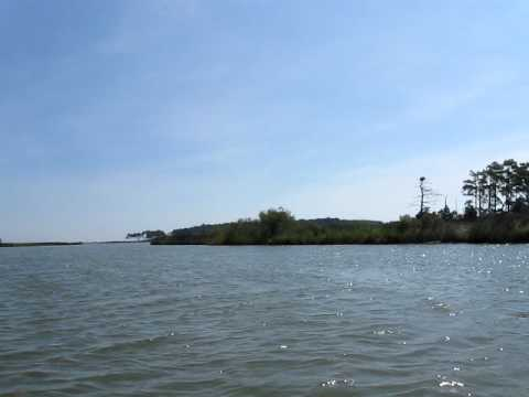 Point lookout state park kayaking youtube for Point lookout fishing