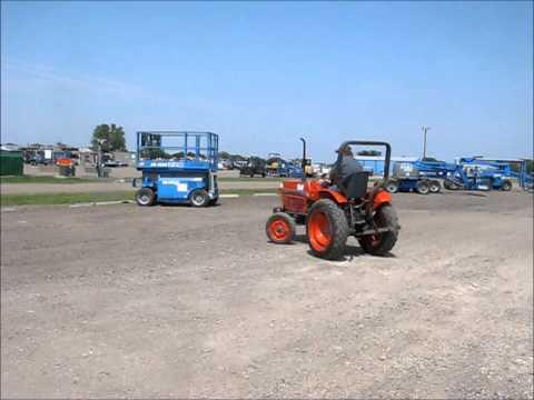 1989 Kubota 2050 tractor for sale | no-reserve Internet auction August 20, 2014