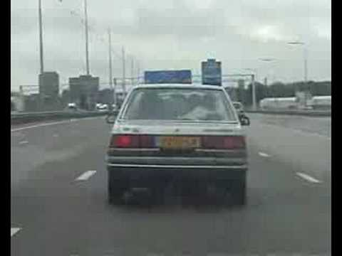 Toyota Carina VVOR7 Hotrod races to football tournament