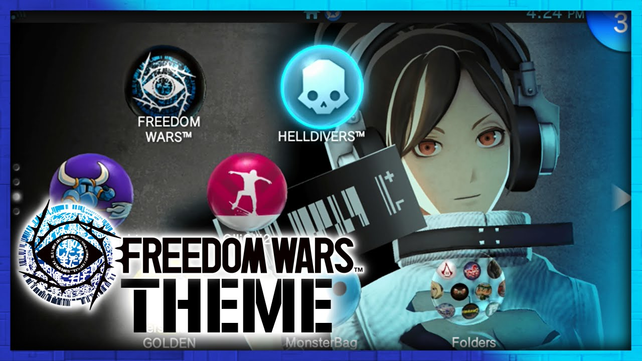 Freedom Wars ps Vita ps Vita Freedom Wars Theme