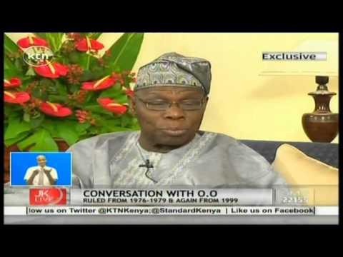 Jeff Koinange Live with former Nigerian president Olusegun Obasanjo part1