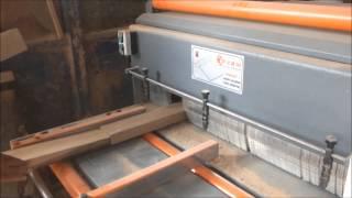 Çift Kenar Alma ve Dilimleme Makinası CKADM 120