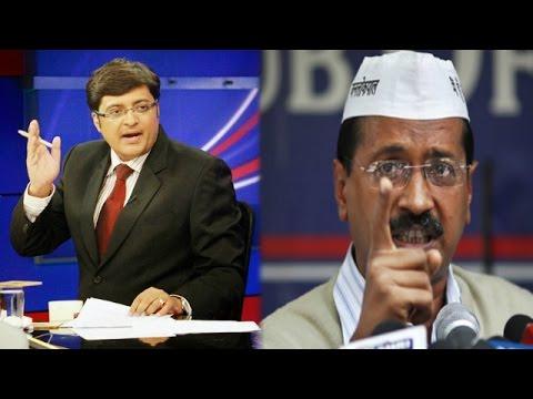 The Newshour Debate: 5 BJP Questions To Kejriwal - Full Debate (29th Jan 2015)