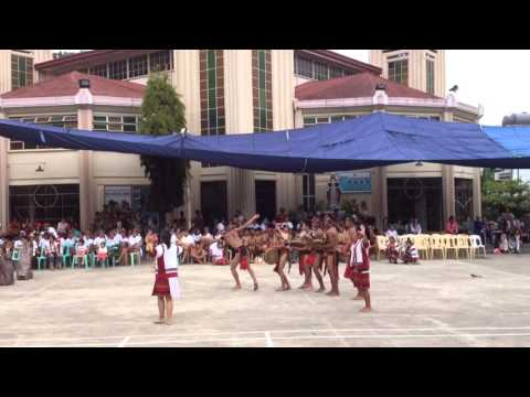 Igorot dance part 2 - SLT Convention 2016 @ Saint Vincent School, Bontoc Mt. Province