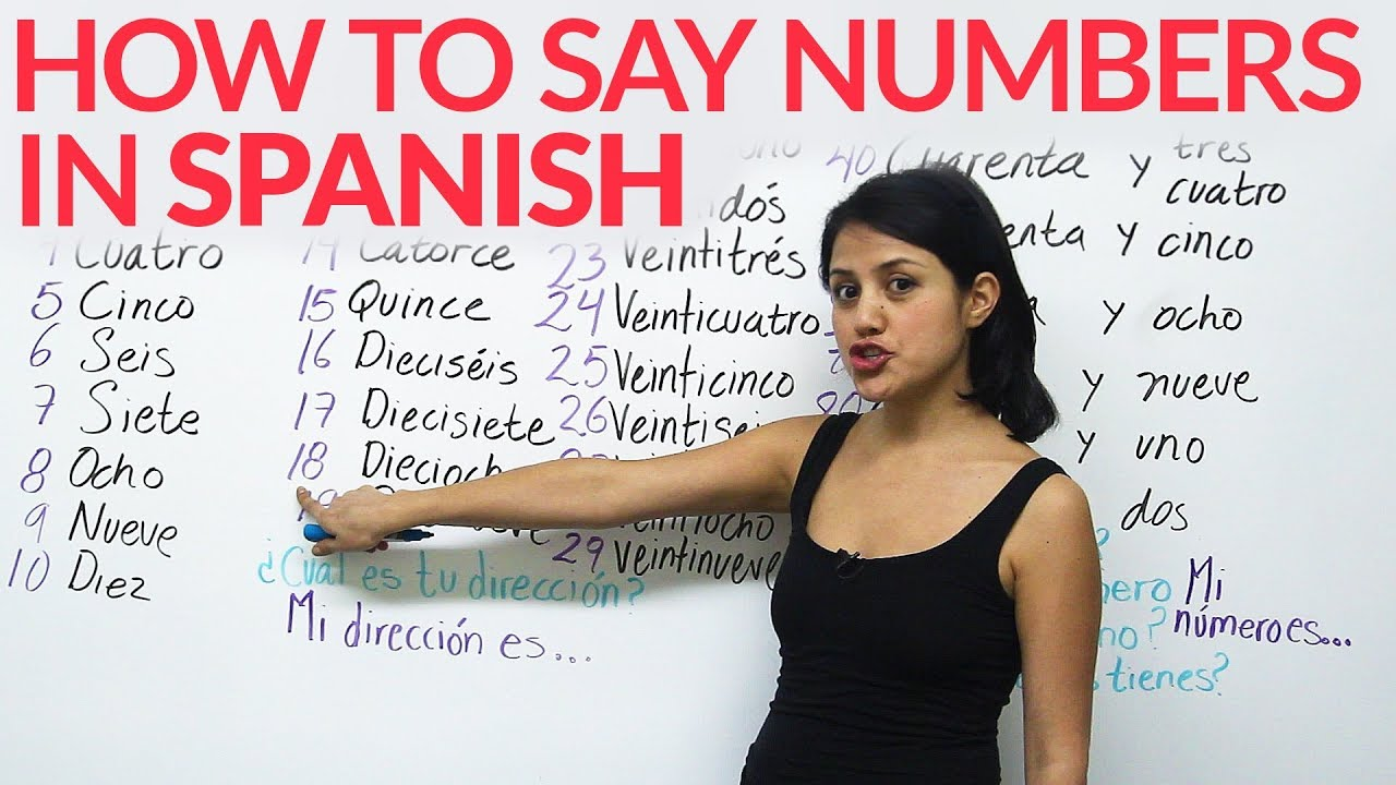Number Zero in Spanish to Say Numbers in Spanish