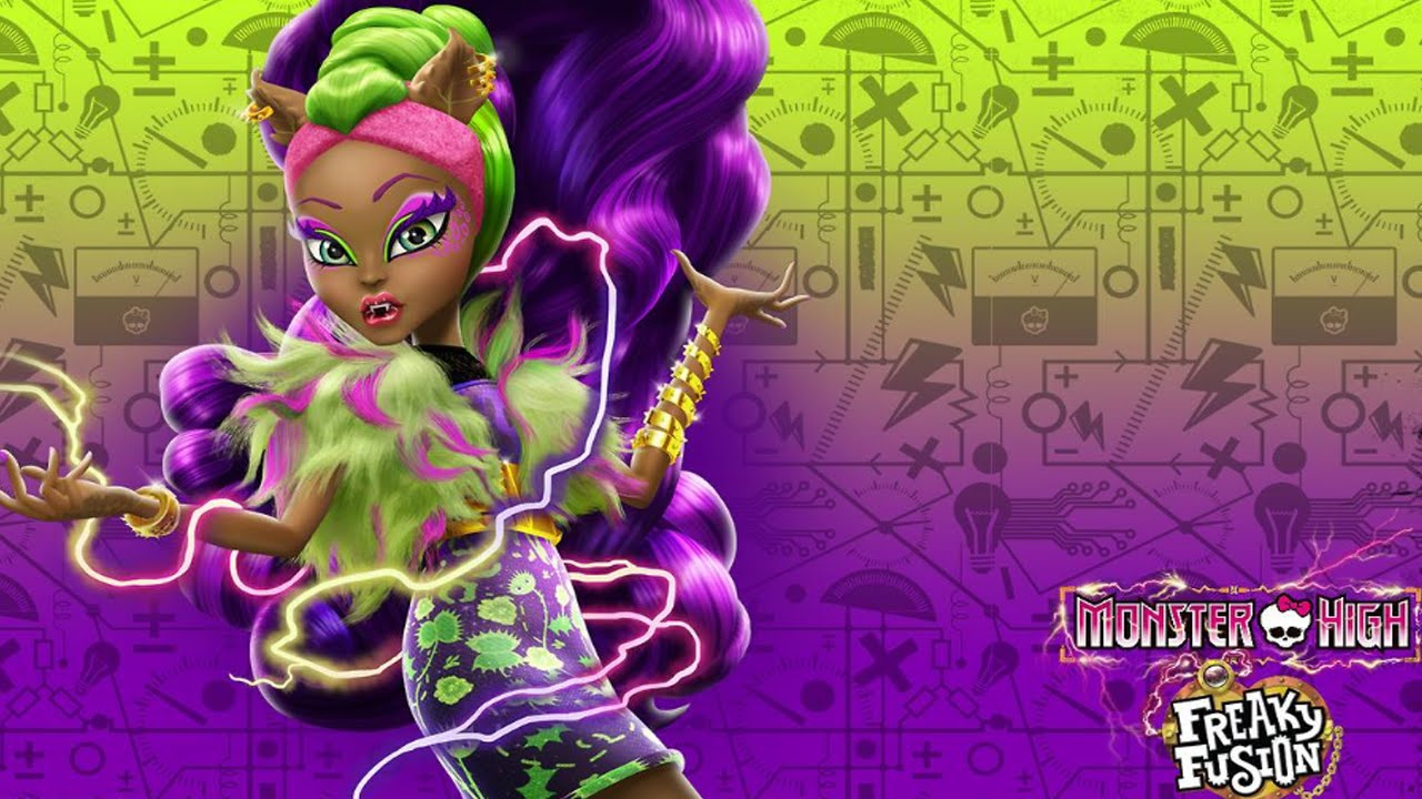 Monster High Gameplay Clawvenus Freaky Fusion Music Movie Dress Up ...