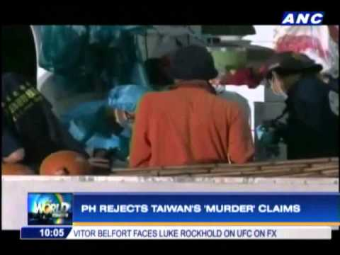 PH rejects Taiwan's 'murder' claims