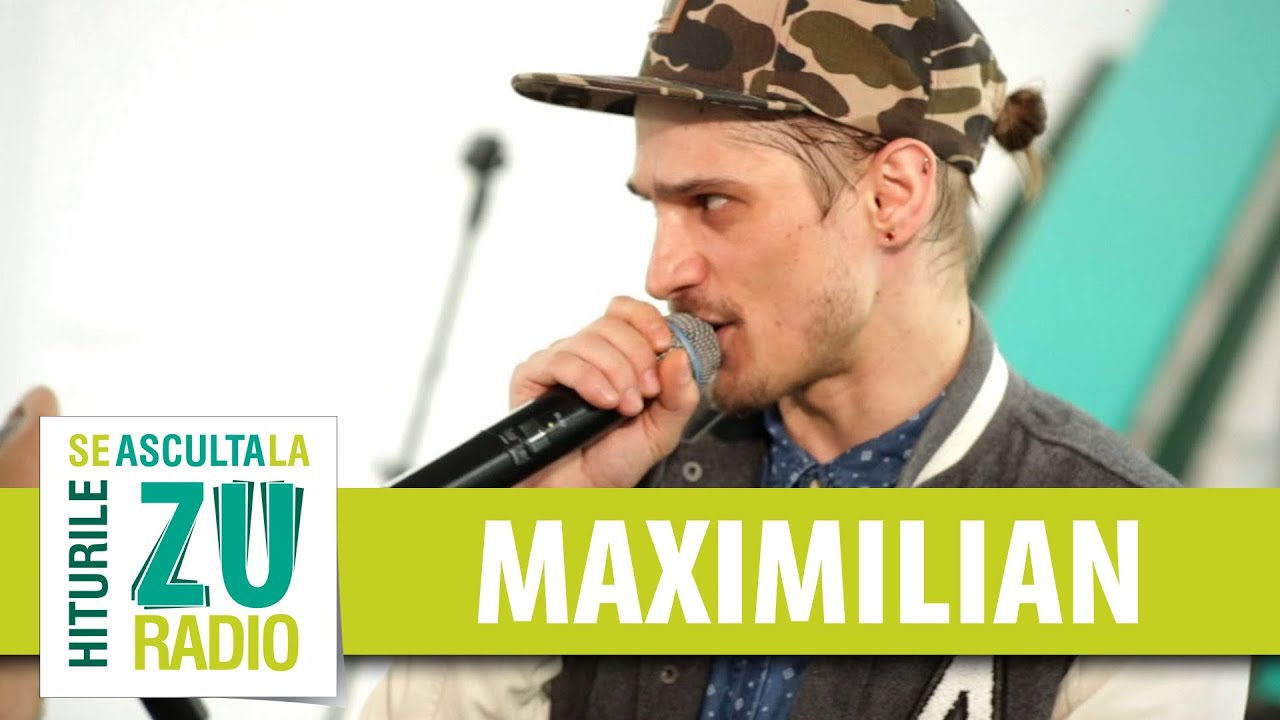 Maximilian - Zbor cu parapanta (Live la Radio ZU)