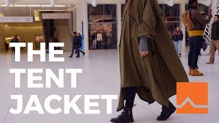 The ADIFF Tent Jacket: Revolutionizing the Fashion Industry