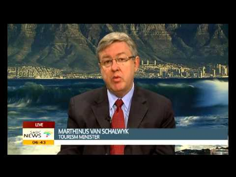 10.2 percent growth in International tourist visitors who travelled to South Africa