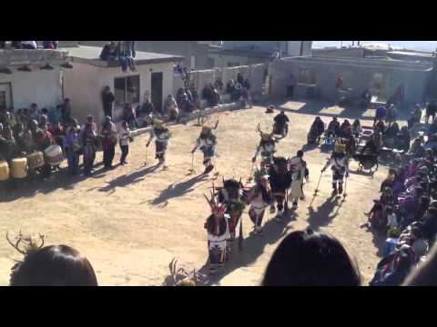 Hopi buffalo dance; Jan 28-29, 2012