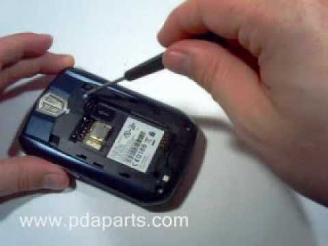 Video: Blackberry 8700, 8700g & 8700c Screen Replacement Directions by DirectFix.com