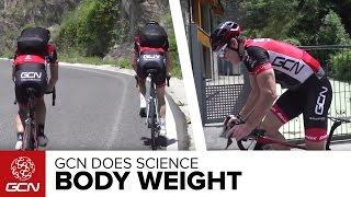 How Much Does Body Weight Affect Climbing Speed? GCN Does Science