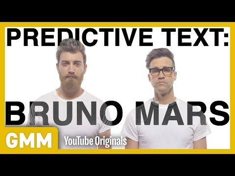 """Shake The Death:"" Bruno Mars Predictive Text Song"