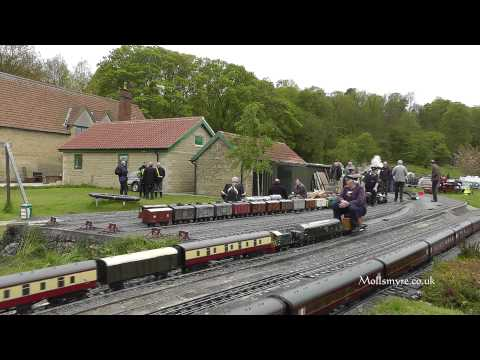 The Ryedale Society of Model Engineers (RSMEL) Main Line Rally 2012