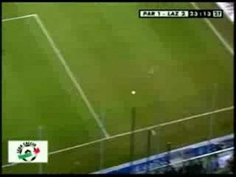 Mancini backheel goal for Lazio