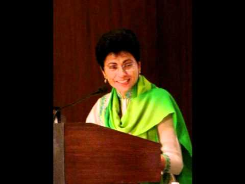Old Delhi Book Launch Part 4 - Speech by Kumari Selja, Tourism Minister and Chief Guest.wmv
