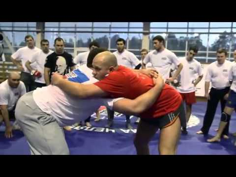 Fedor Emelianenko - Seminar 2013 - Clinch and takedowns work Image 1