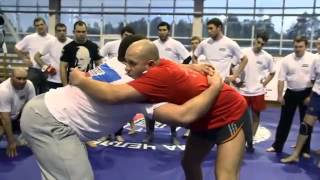 Fedor Emelianenko - Seminar 2013 - Clinch and takedowns work