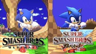 Super Smash Bros. Ultimate Stage Comparison (Ultimate VS Brawl)