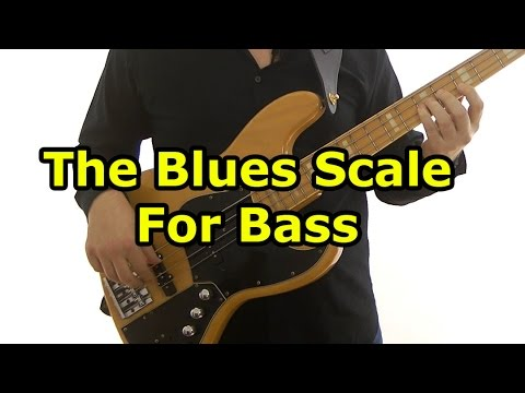 Blues Scale For Bass Guitar