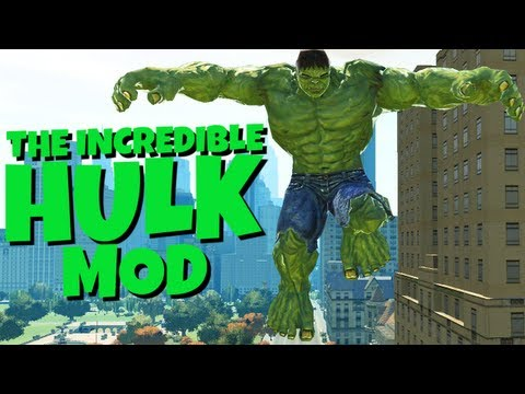 Grand Theft Auto IV - The Incredible Hulk Script (MOD) OFFICIAL TRAILER HD