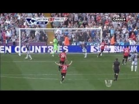 Manchester United vs West Brom 5-5 All Goals & Highlights 19/05/2013 HD fifa remake