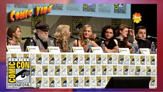 Game of Thrones Panel (Full) | San Diego Comic Con - Season 4