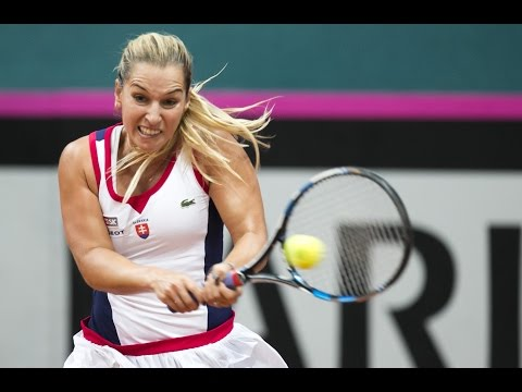 Highlights: Dominika Cibulkova (SVK) v Francoise Abanda (CAN)