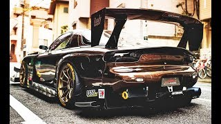 MAZDA RX7 - BIG TURBO & EXHAUST SOUND