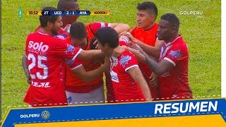 Resumen: Unión Comercio vs. Ayacucho F.C (3-1)