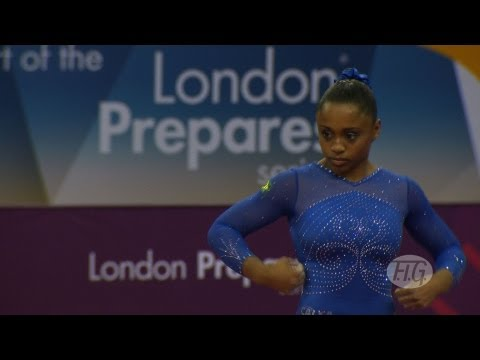 Olympic Qualifications London 2012 -- Daiane DOS SANTOS (BRA) - FX