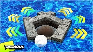 THE MOST RANDOM HOLE EVER! (Golf It)