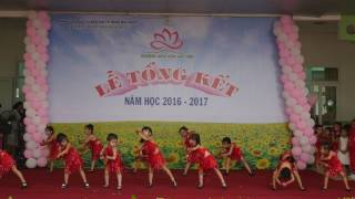 Nhảy Latin - Chồi 2 - Tổng kết 2016 - 2017 -  Trường Mầm Non Hoa Sen