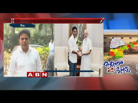 Minister KTR Speaks to Media After Meet With PM Modi, Discussion Of Telangana Issues | ABN Telugu