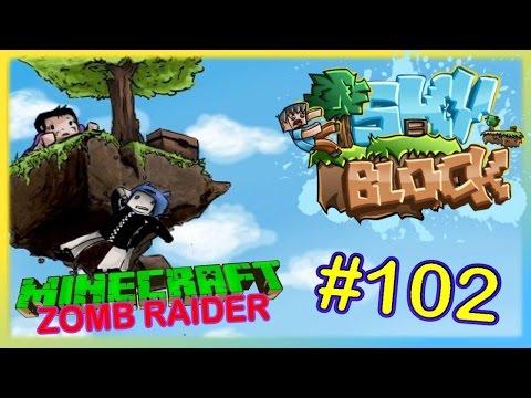 Minecraft #102 | Zomb Raider | *Cobble-Generator in wenigen Minuten-Guide* | Skyparty.me |