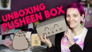 ♥ Unboxing & Review Pusheen Box (Winter box) ♥