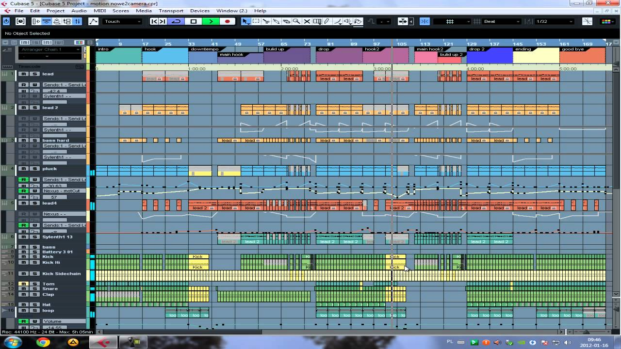 Cubase 5 Two ways ( swedish house style full project ...