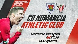 🔴 LIVE - CD Numancia 1-1 Athletic Club ⚽️ I Amistoso