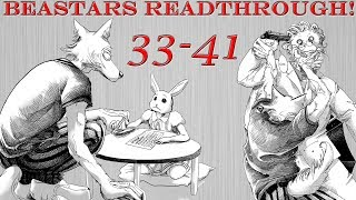 Too Hype to Stop Now! | Beastars Chapters 33-41 Readthrough!