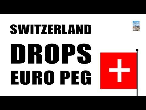 DEFLATION in EU! Switzerland Drops Euro Currency Peg as Franc Soars 30%!