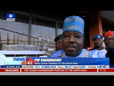 PDP Zones Chairmanship To Noth East