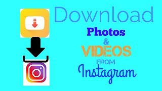 How to download Photos and Videos from Instagram in hindi