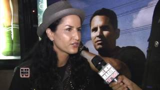 Diamonique Noriega Interview at End of Watch (2012) Movie Meet and Greet
