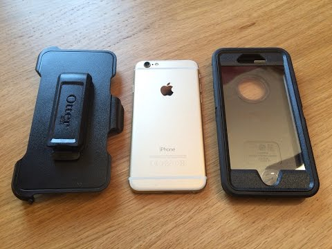 otterbox defender iphone 6 how to open
